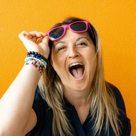 Linda, formatrice en réseaux sociaux de l'agence de communication