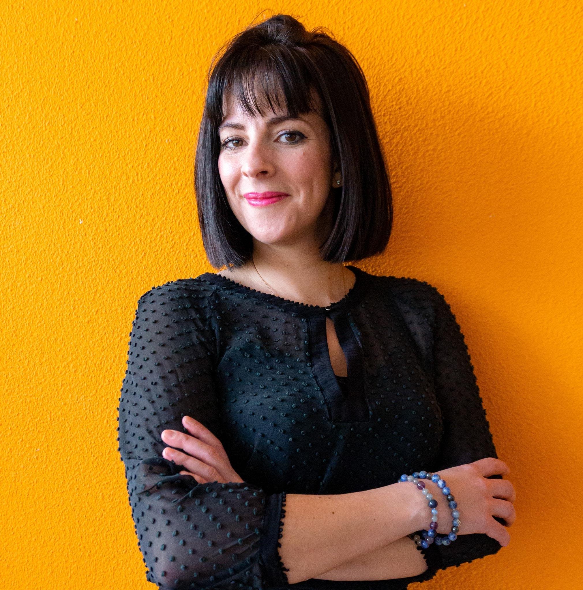 Sonia, experte web de l'agence de communication varoise